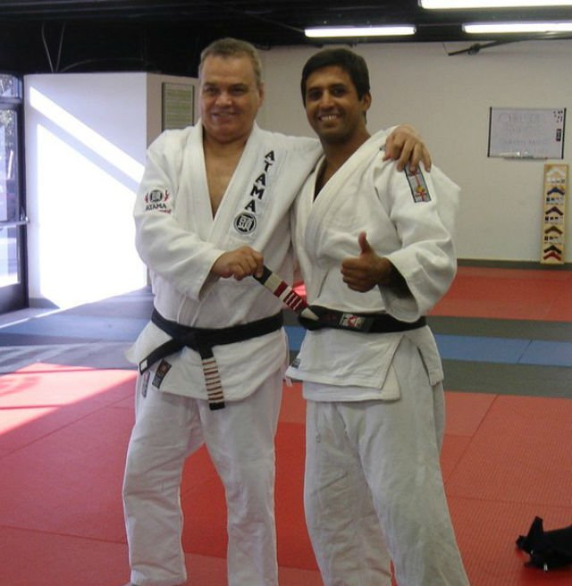 Carlson Gracie and Paulo Small Interior